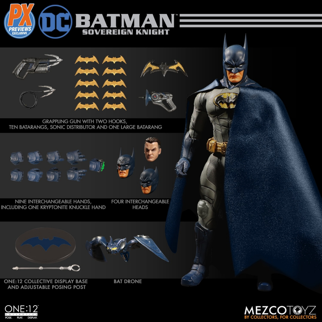 One-12 Collective Batman: Sovereign Knight Action Figure