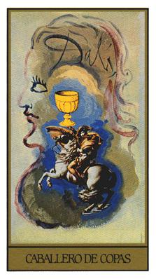 Salvador Dali's Universal Tarot Deck - Knight of Cups