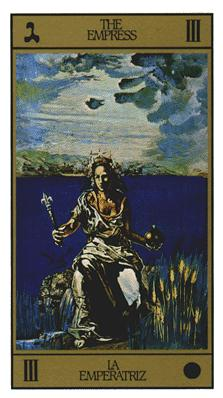 Salvador Dali's Universal Tarot Deck - The Empress