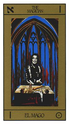 Salvador Dali's Universal Tarot Deck - The Magician