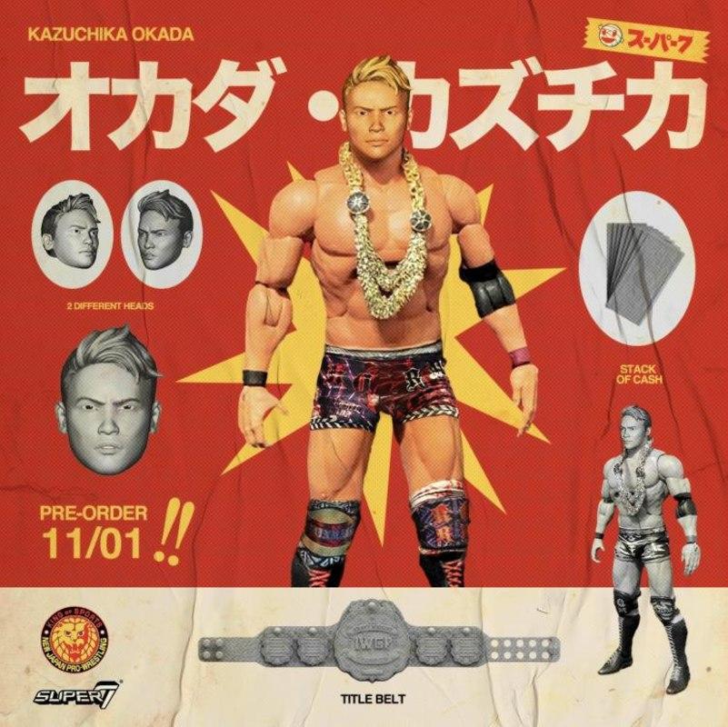 Super7 - New Japan Pro-Wrestling - Kazuchika Okada