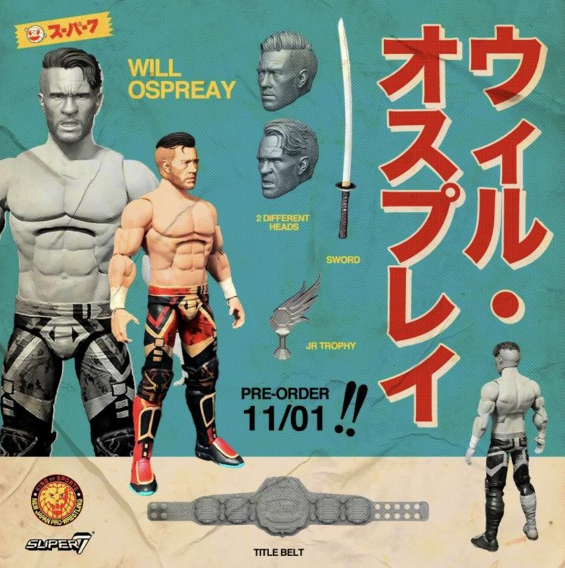 Super7 - New Japan Pro-Wrestling - Will Ospreay