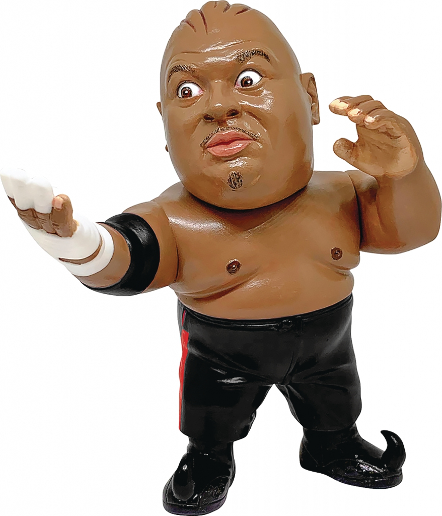Abdullah The Butcher Vinyl Figure - Black Costume