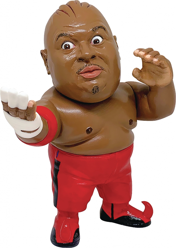 Abdullah The Butcher Vinyl Figure - Red Costume