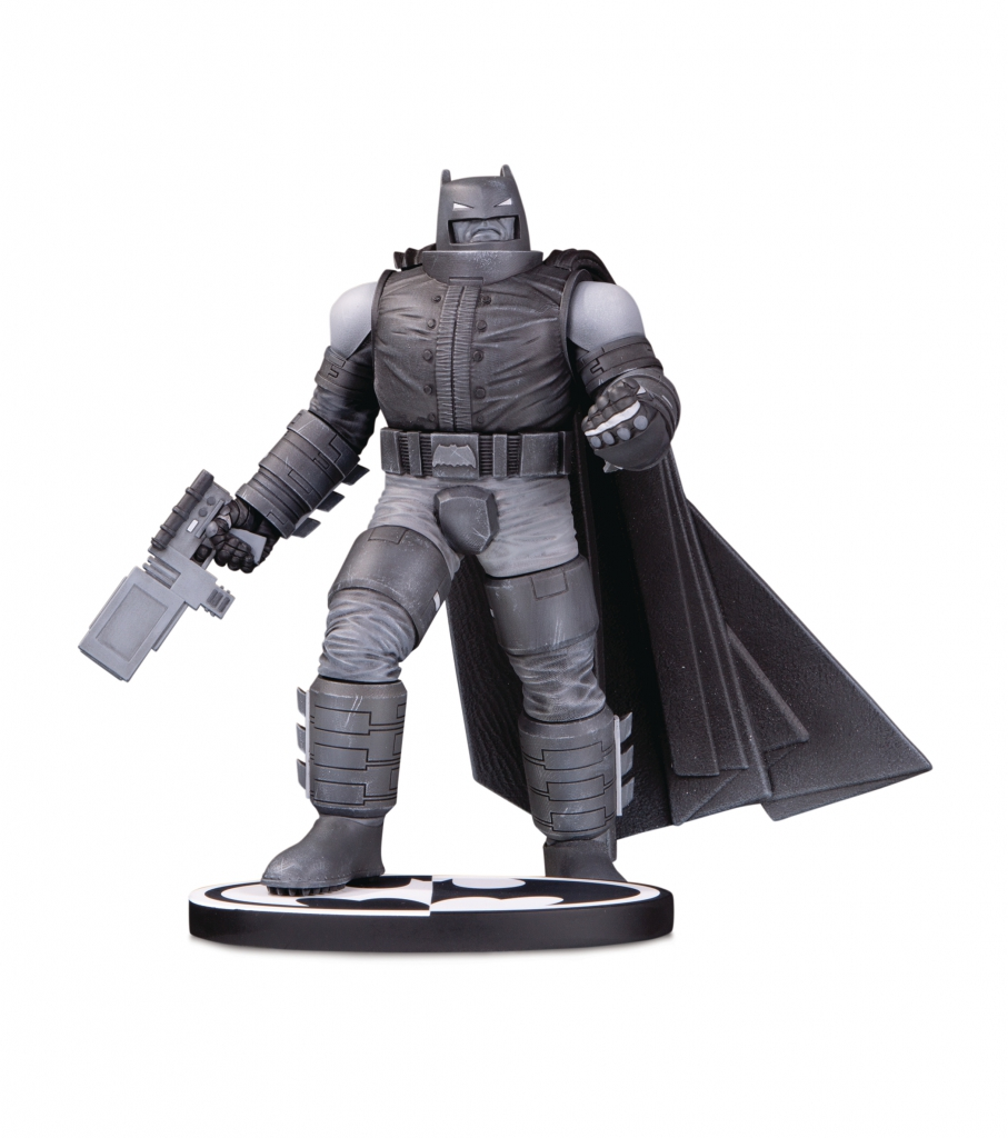 Batman Black & White: Armored Batman Statue