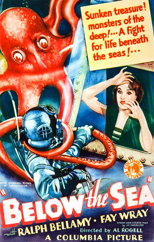 Below The Sea (1933) Movie Poster