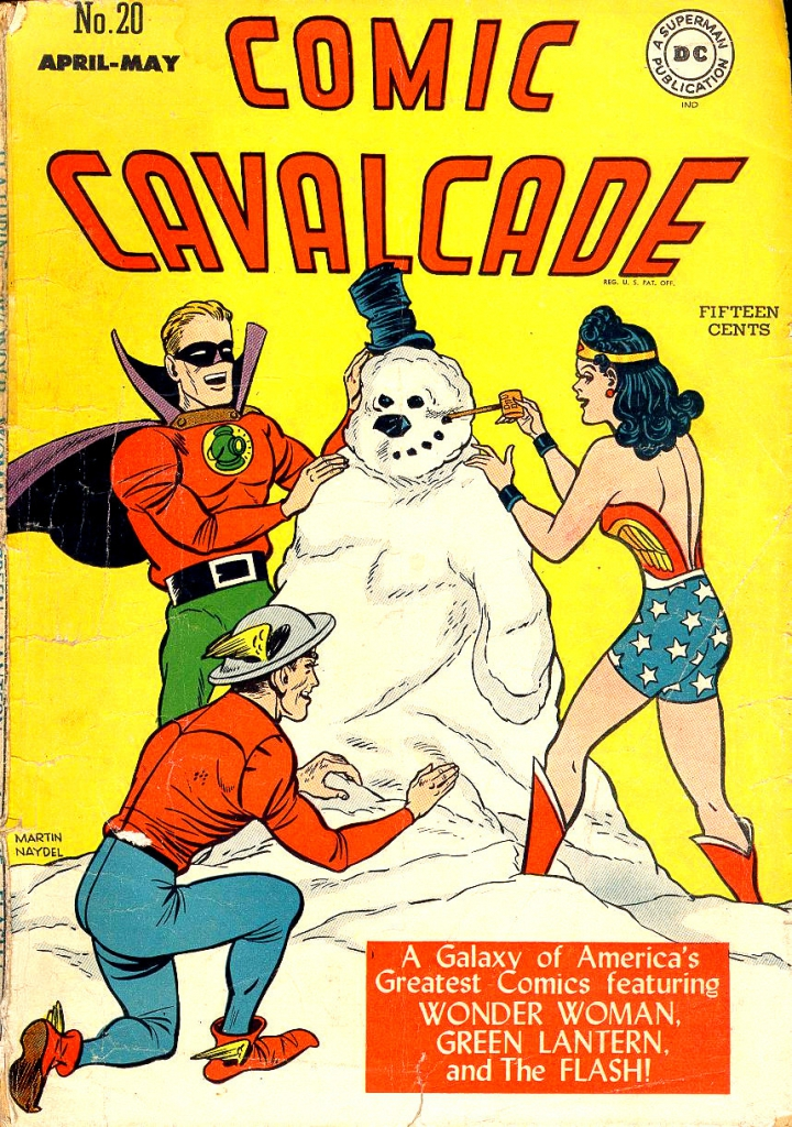 Comic Cavalcade - Vol. 1, No. 20 - April 1947