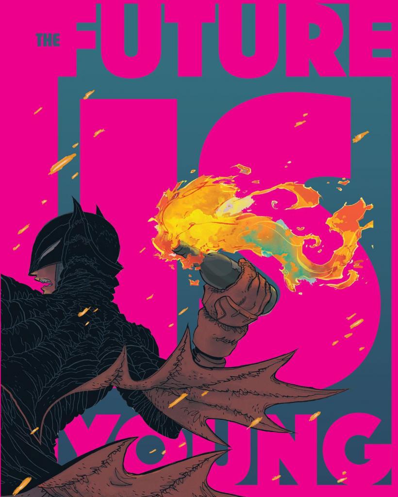 Dark Knight Returns: The Golden Child Promo Cover