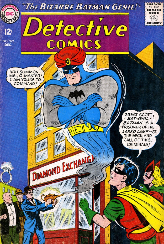 Detective Comics 322 - The Bizarre Batman Genie