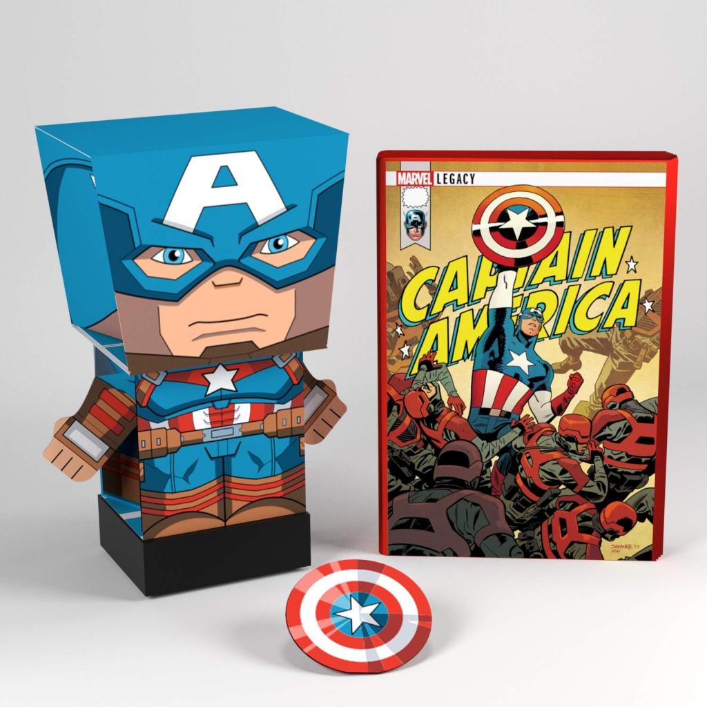 Marvel Pulp Heroes - Captain America