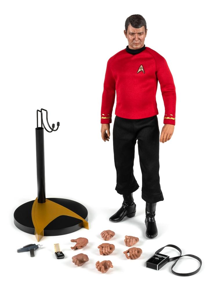 Star Trek Master Series: Lt. Commander Montgomery Scott 1/6 Scale Action Figure