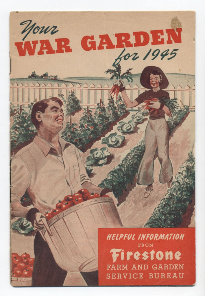 World War II Propaganda Poster - Your War Garden 1945