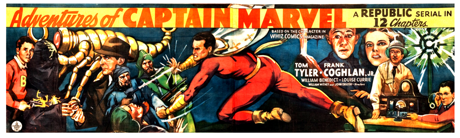 Adventures of Captain Marvel (Republic Serial) Poster