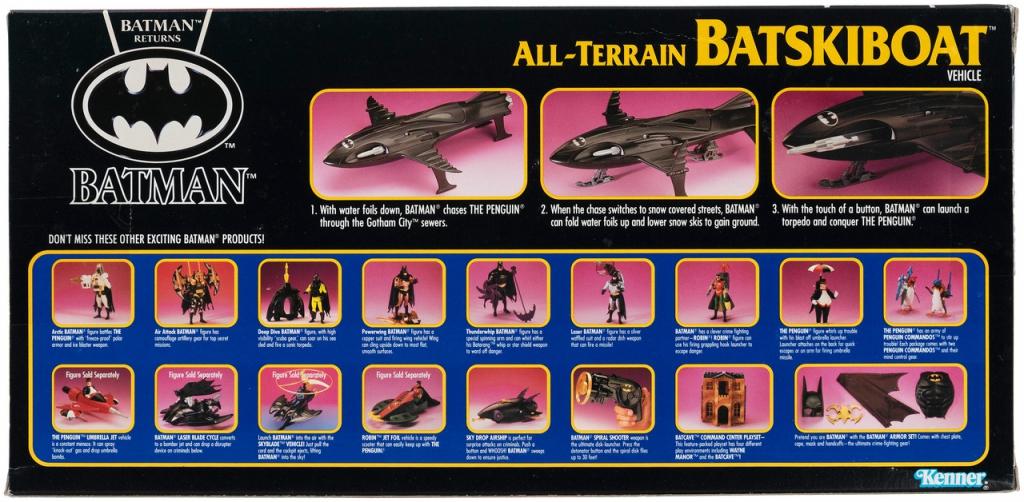 Batman Returns - Kenner Batskiboat