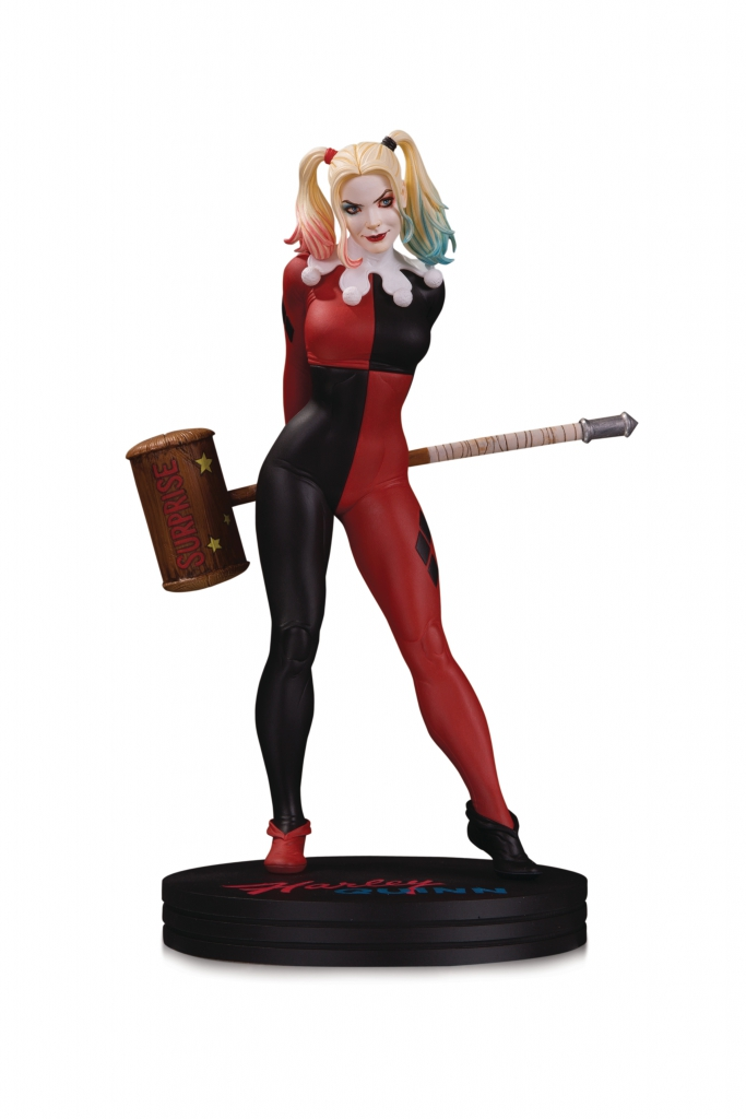 DC Cover Girls Harley Quinn Statue by Frank Cho