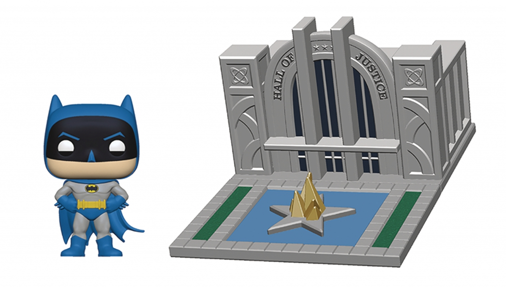 Funko Pop! Batman With Hall of Justice