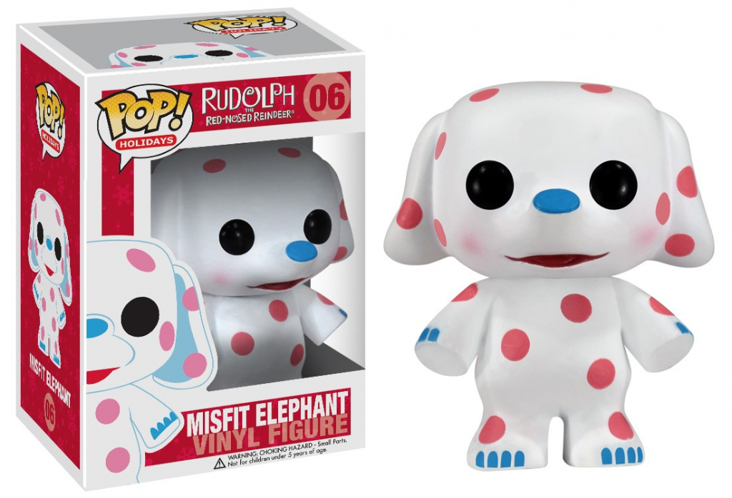 Funko Pop! Rudolph The Red-Nosed Reindeer - Misfit Elephant