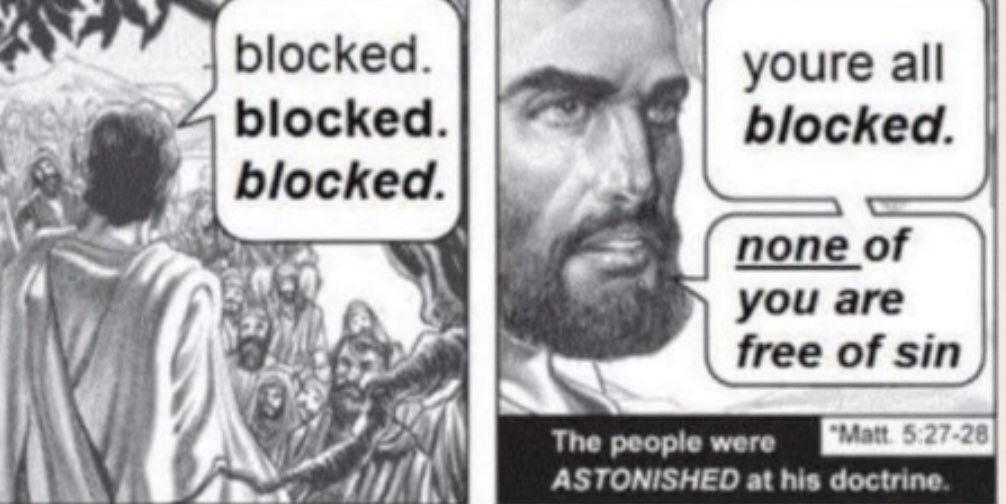 Jesus Meets Twitter Users
