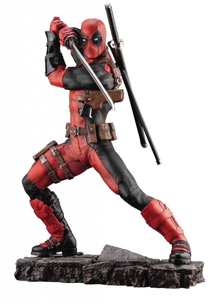Marvel Deadpool Statue