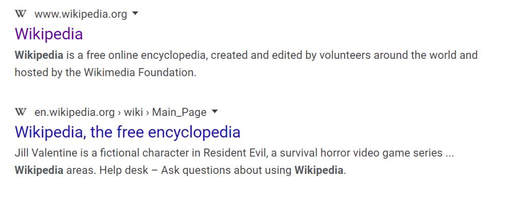 New Google Search Design