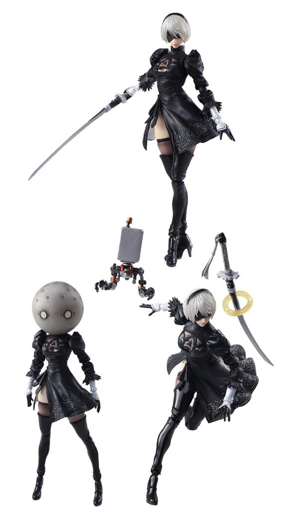 Nier: Automata 2B PVC Figure Set