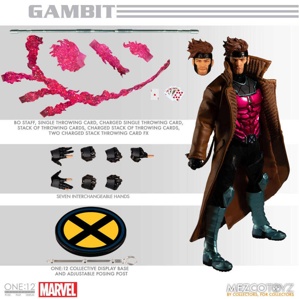 One-12 Collective - Gambit Action Figure