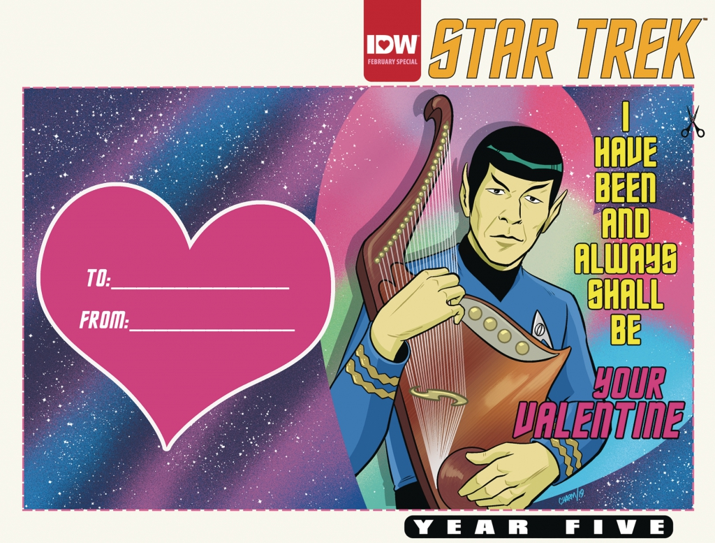 Star Trek Year Five - Valentine's Day Issue