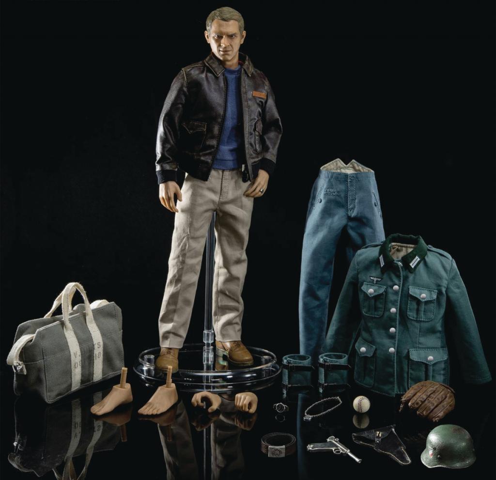 "Steve McQueen ""The Great Escape"" 1/6 Scale Action Figure"