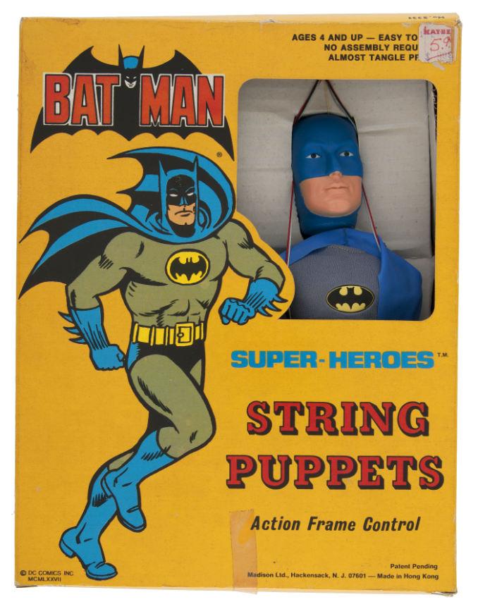 Super-Heroes String Puppets - Batman