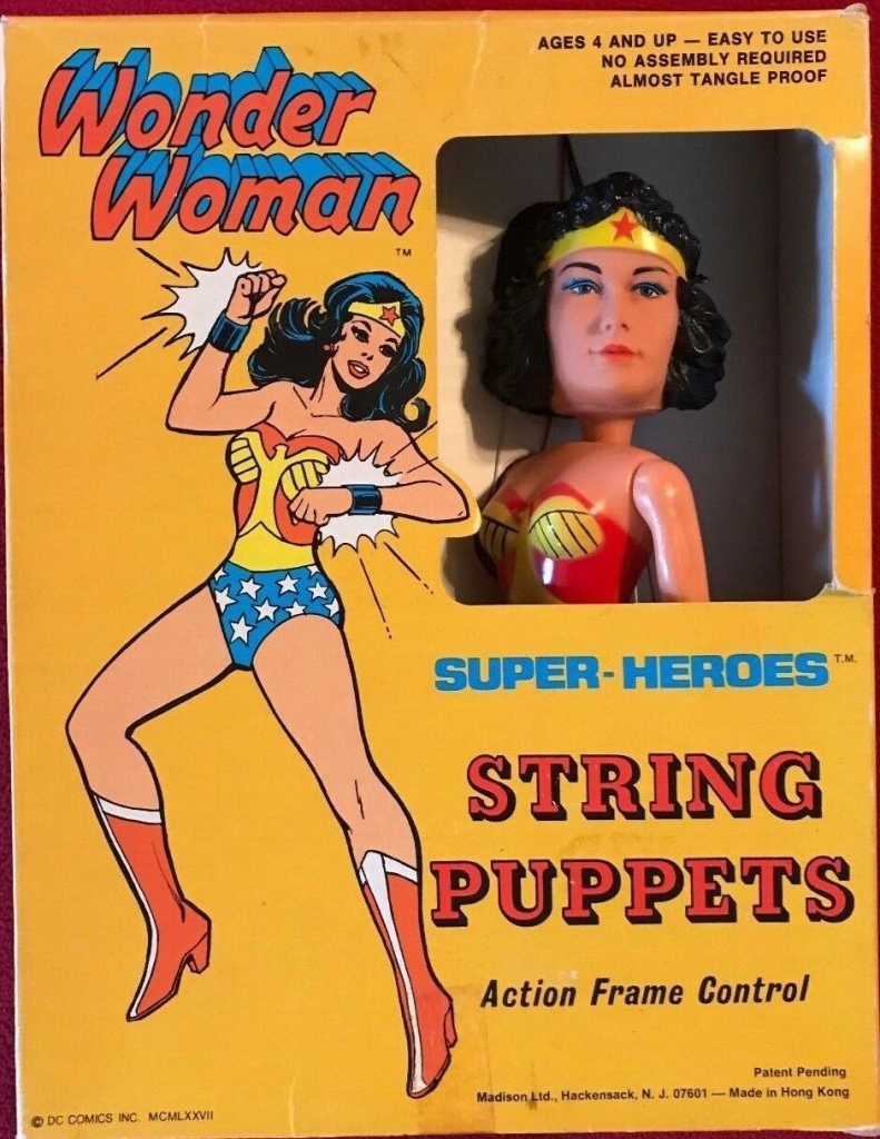 Super-Heroes String Puppets - Wonder Woman