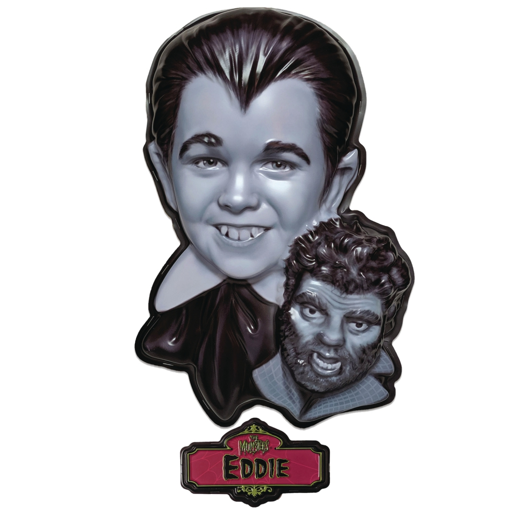 The Munsters Plastic Masks - Eddie Munster