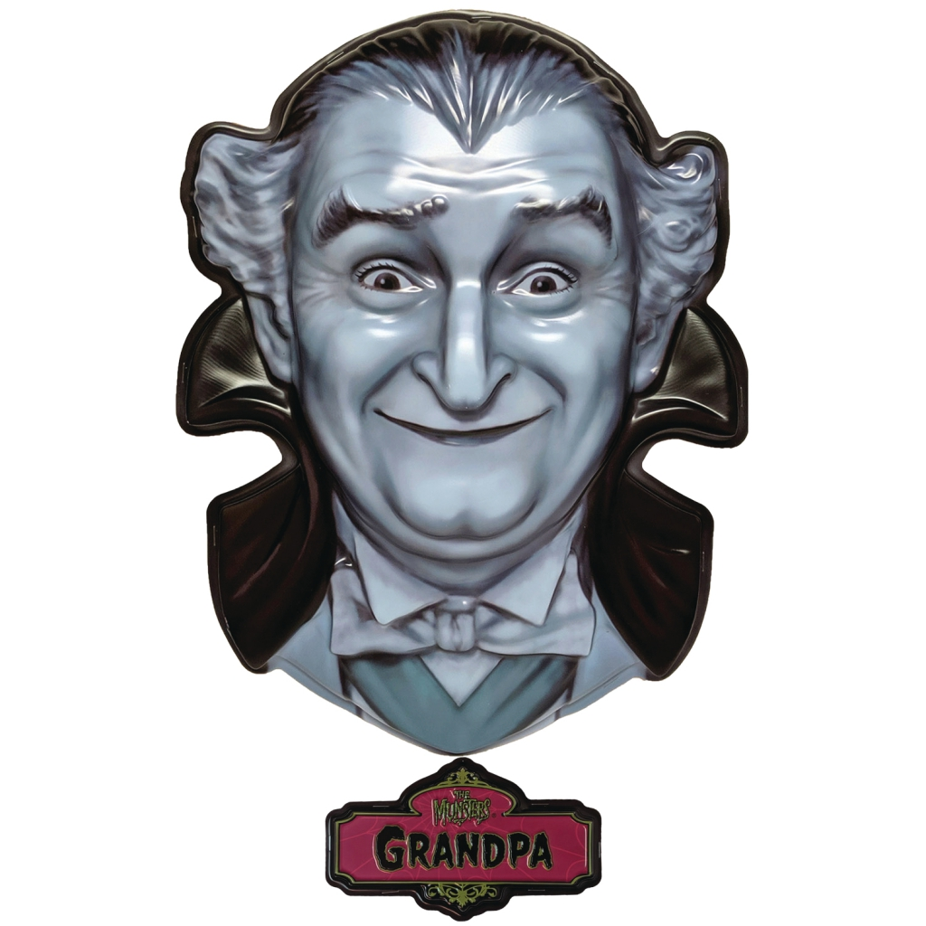 The Munsters Plastic Masks - Grandpa Munster