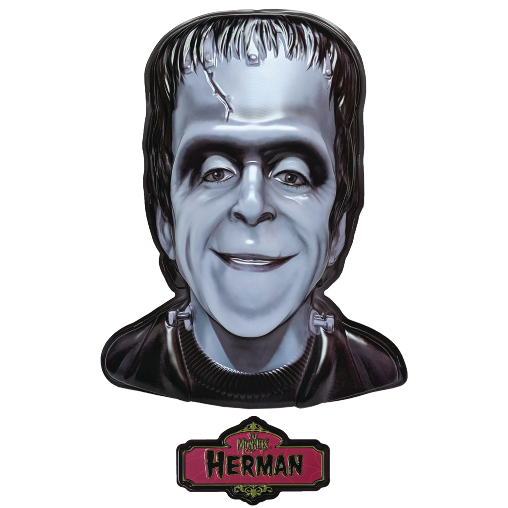 The Munsters Plastic Masks - Herman Munster