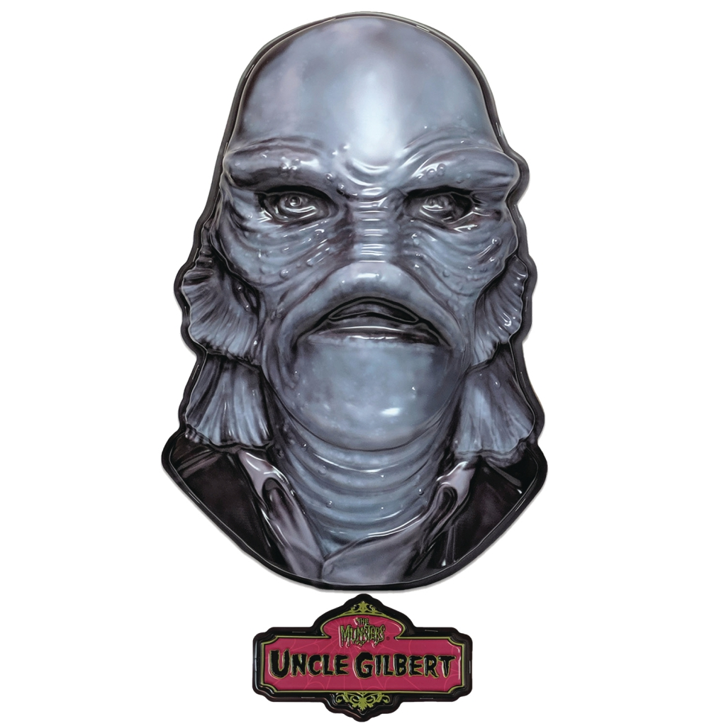 The Munsters Plastic Masks - Uncle Gilbert