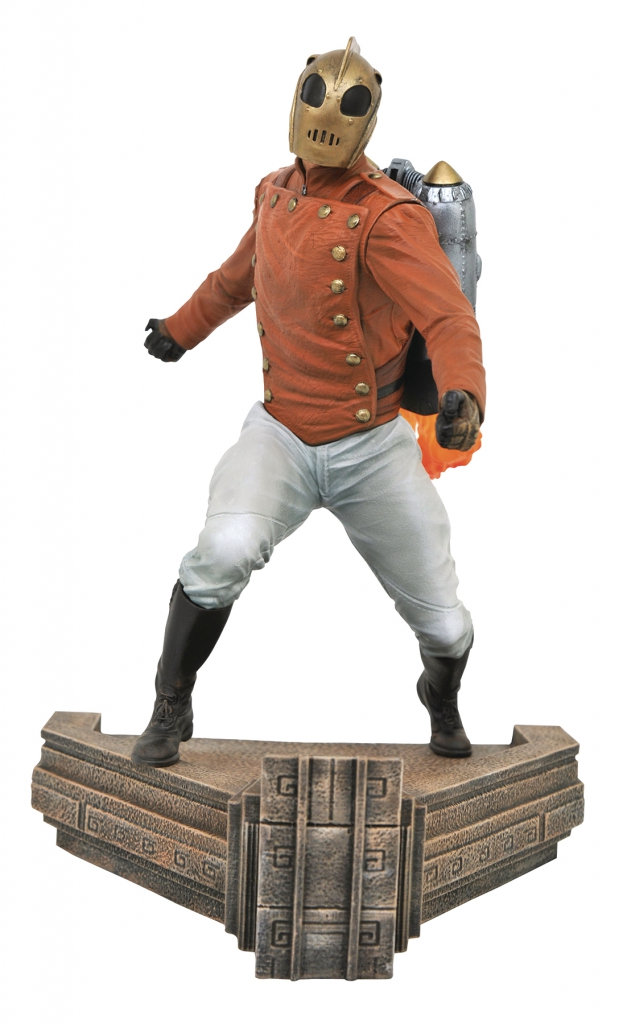 The Rocketeer Statue