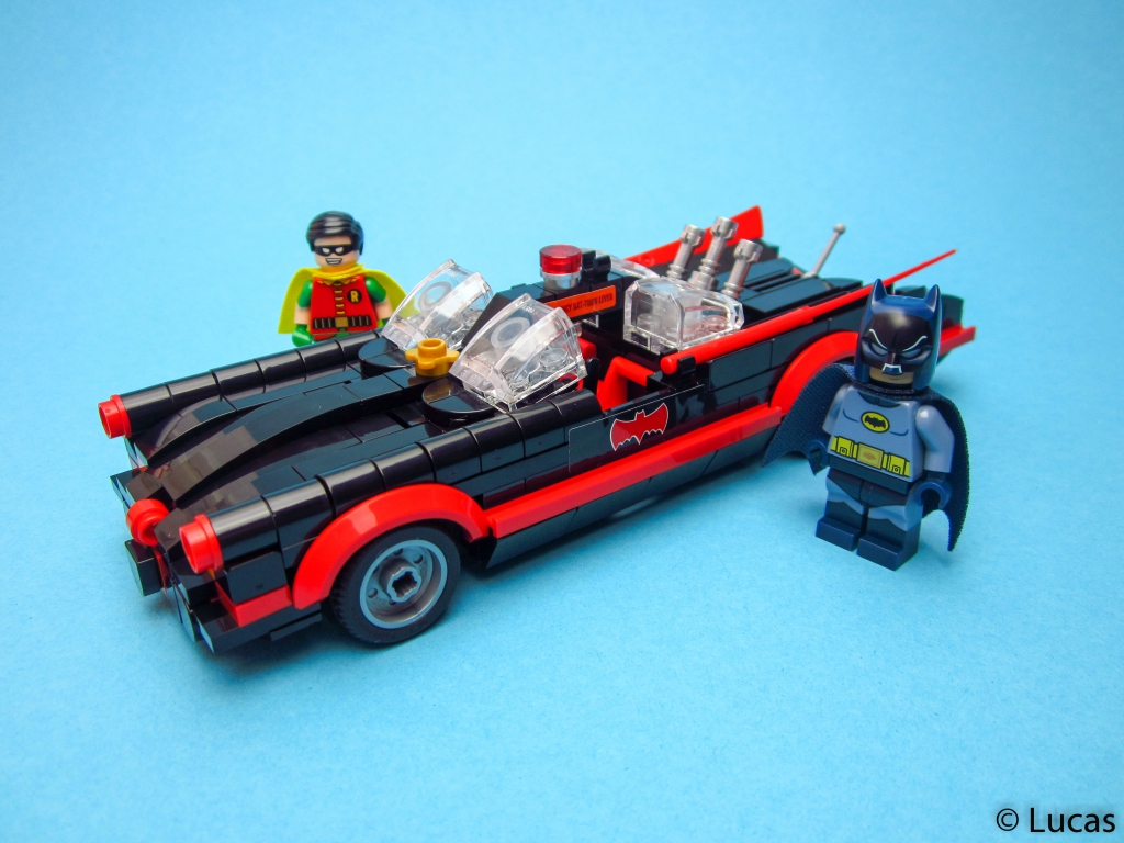 Lego Batmobile from Batman Classic 1966 TV Series