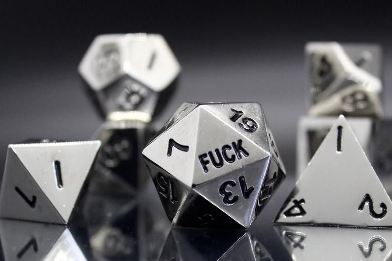 D20 Critical Failure Dice
