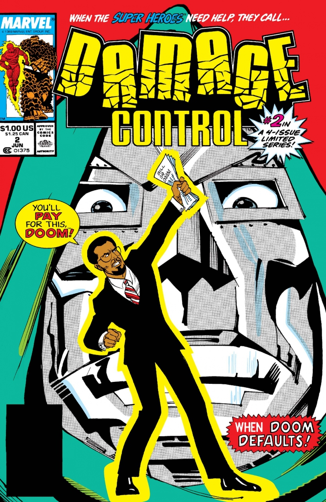 Damage Control, Vol. 1, No. 2 - June 1989
