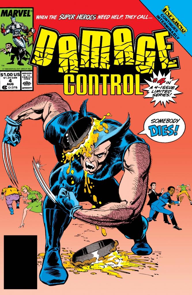 Damage Control, Vol. 1, No. 4 - August 1989