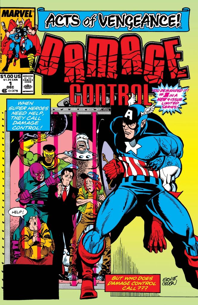Damage Control, Vol. 2, No. 1 - December 1989