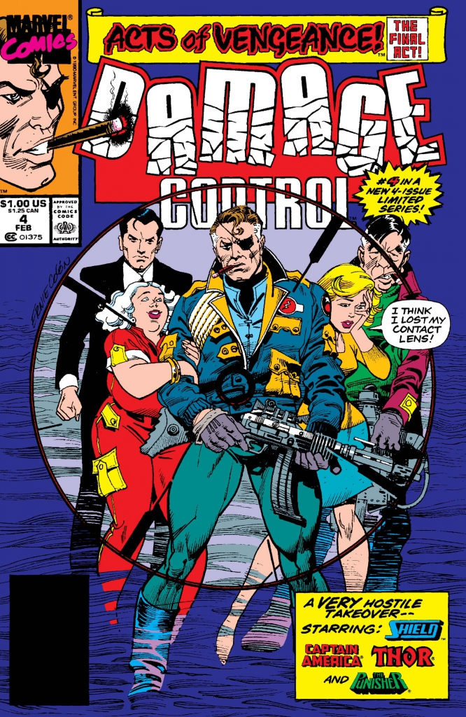 Damage Control, Vol. 2, No. 4 - February 1990