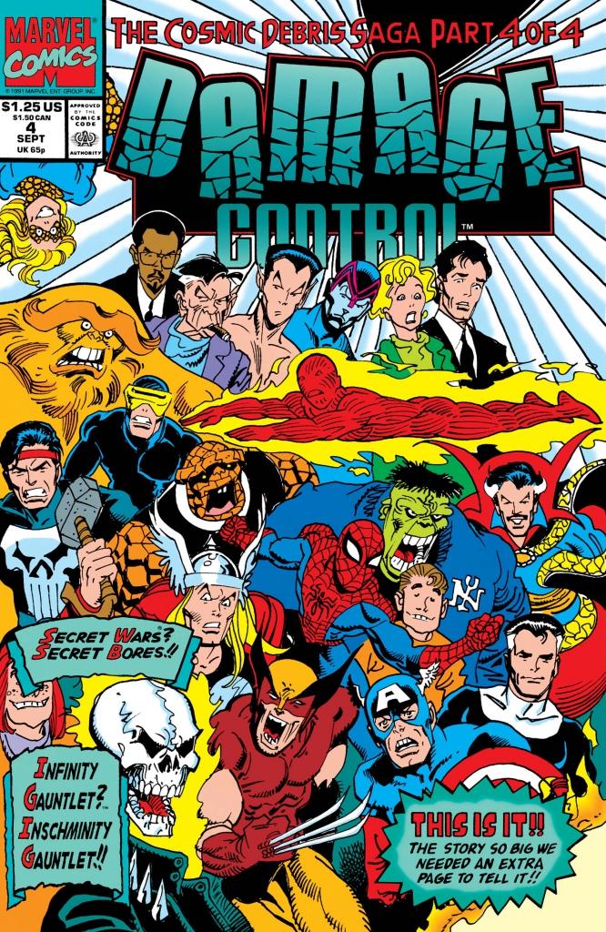Damage Control, Vol. 3, No. 4 - September 1991