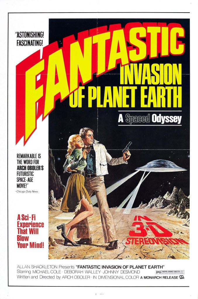 Fantastic Invasion of Planet Earth Movie Poster