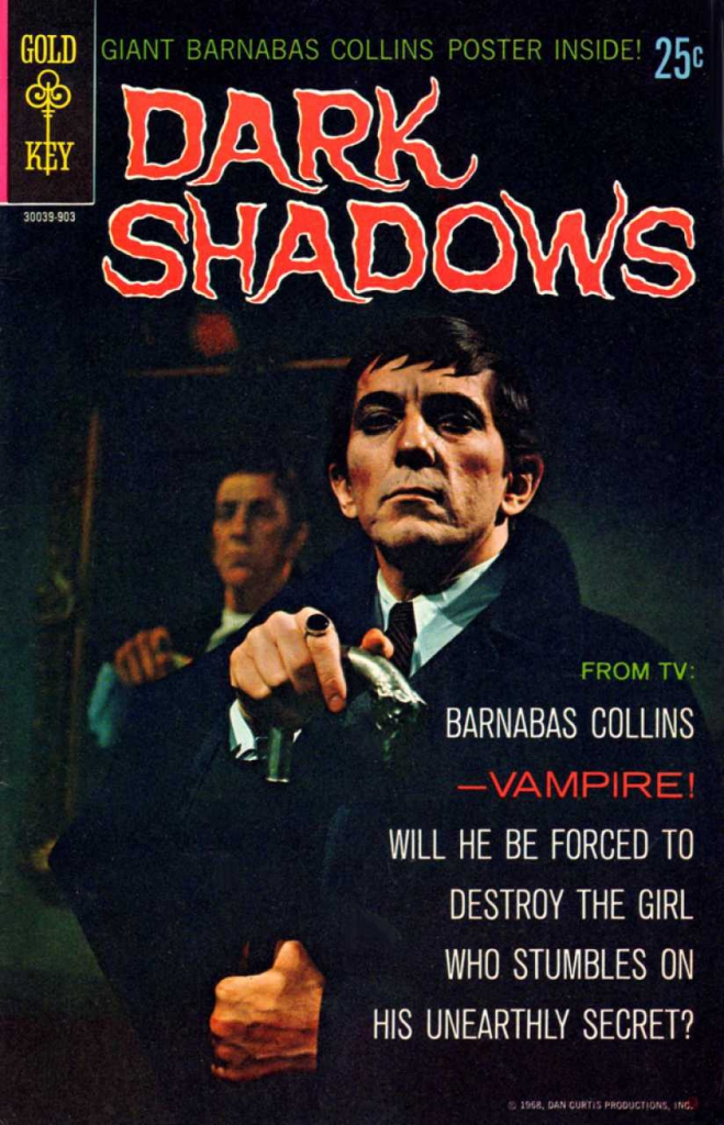 Dark Shadows - Vol.1, No. 1 - March 1969 - The Vampire's Prey