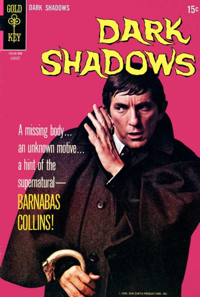 Dark Shadows - Vol.1, No. 2 - August 1969 - The Fires of Darkness
