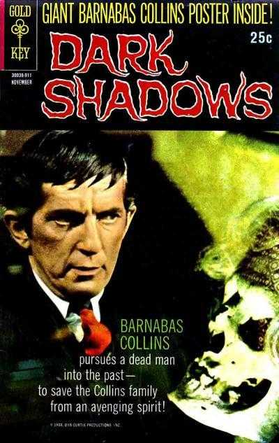Dark Shadows - Vol.1, No. 3 - November 1969 - Return for Revenge