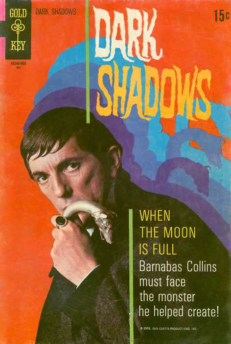 Dark Shadows - Vol.1, No. 5 - May 1970 - The Curse of Collins Isle