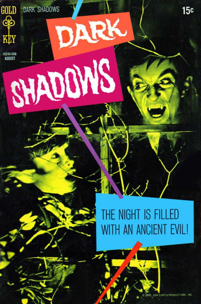 Dark Shadows - Vol.1, No. 6 - August 1970 - Awake to Evil