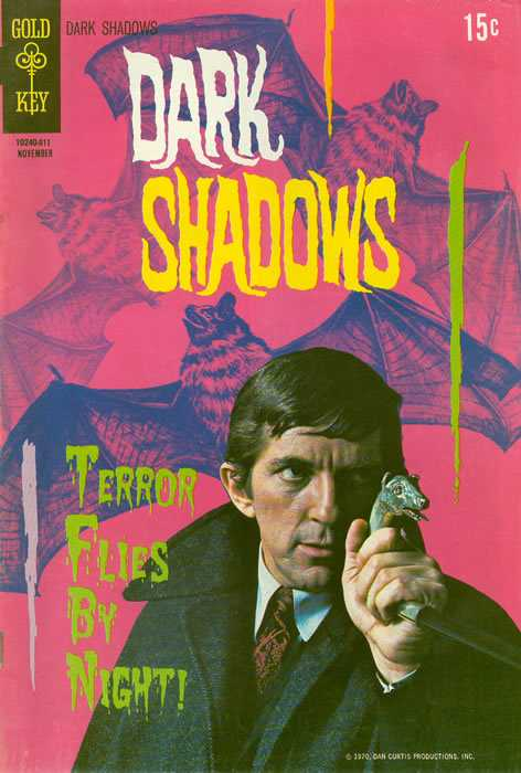 Dark Shadows - Vol.1, No. 7 - November 1970 - Wings of Fear