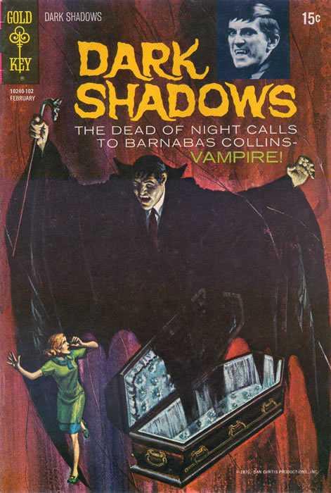 Dark Shadows - Vol. 2, No. 8 - February 1971 - The Vampire Trap